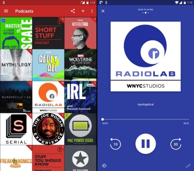 10 лучших альтернатив Pocket Casts для Android и iOS