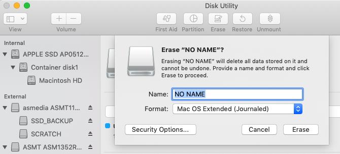 Какая файловая система Mac лучше всего подходит для внешнего диска?