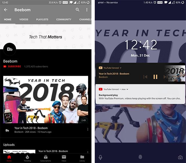 Как воспроизводить видео YouTube в фоновом режиме на Android