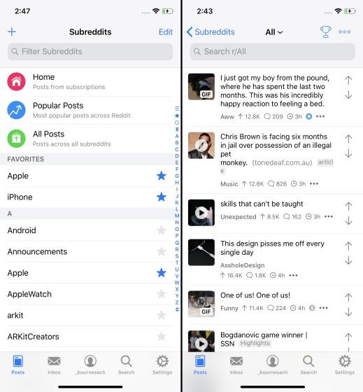 12 лучших приложений Reddit для iPhone, Android и Windows