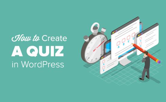 Как легко создать тест в WordPress
