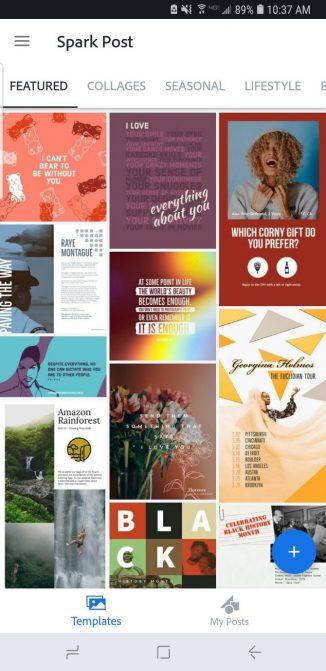Как создать графику в социальных сетях с помощью Adobe Spark Post