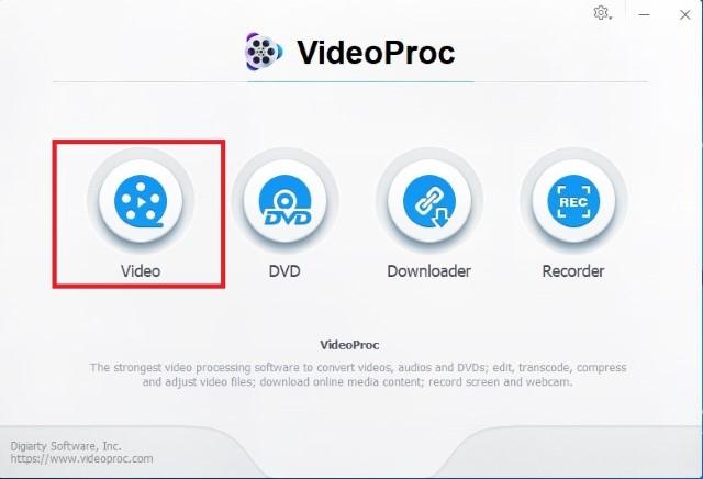 Как объединить видео с помощью VideoProc