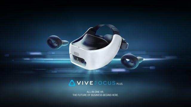 Гарнитура HTC Vive Focus Plus VR стартует 15 апреля по цене 799 долларов