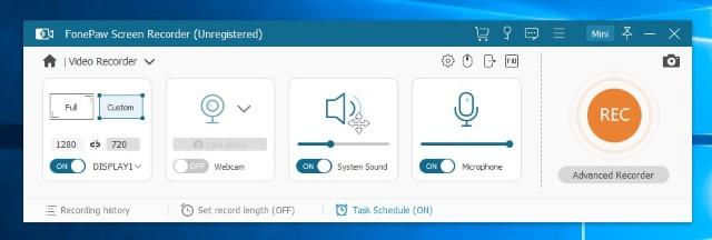 FonePaw Screen Recorder: простая запись экрана на Windows и Mac