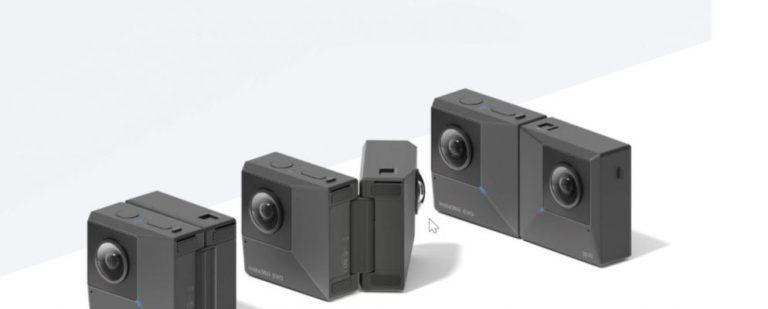 Insta360 EVO — миниатюрная складная 3D и VR камера