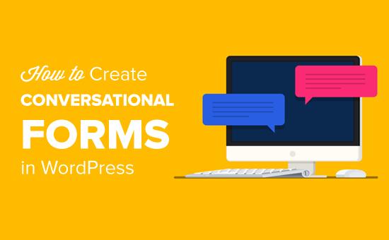 Как создать диалоговые формы в WordPress (альтернатива Typeform)
