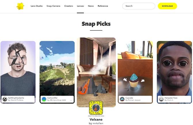 Как получить больше Snapchat фильтров, линз и наклеек