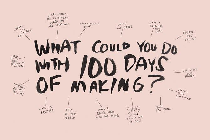 Не достигнув больших целей? Эти 100-дневные проекты могут мотивировать вас снова