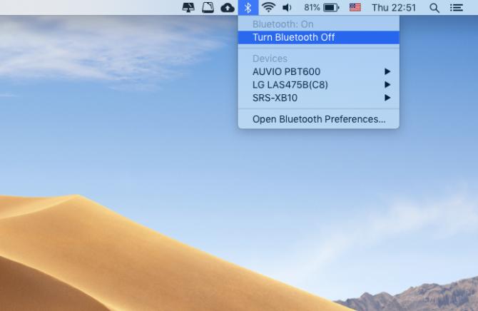Вам нужно перевести MacBook в режим полета?