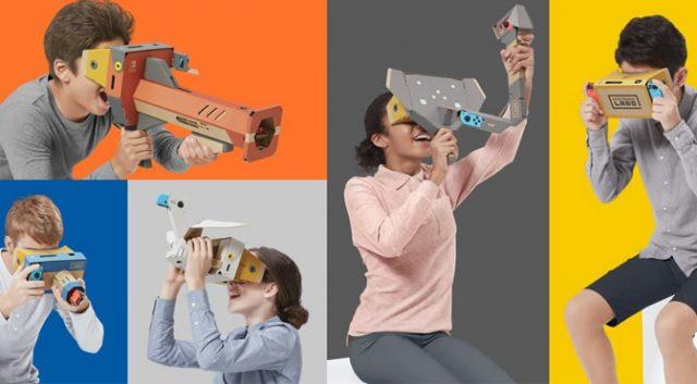 Nintendo превращает переключатель в гарнитуру VR с новыми наборами Labo