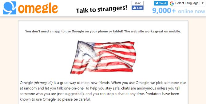 Общайтесь с незнакомцами онлайн и оставайтесь в безопасности