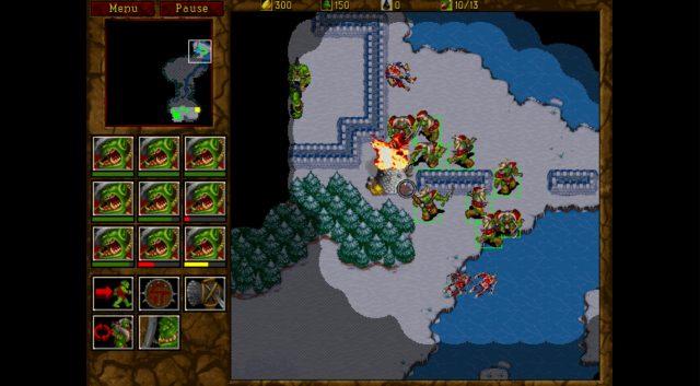 Запуск Warcraft и Warcraft II на GOG.com