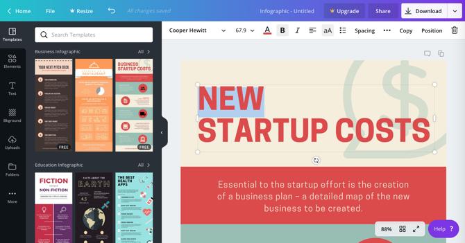 5 лучших бесплатных инструментов для создания инфографики онлайн