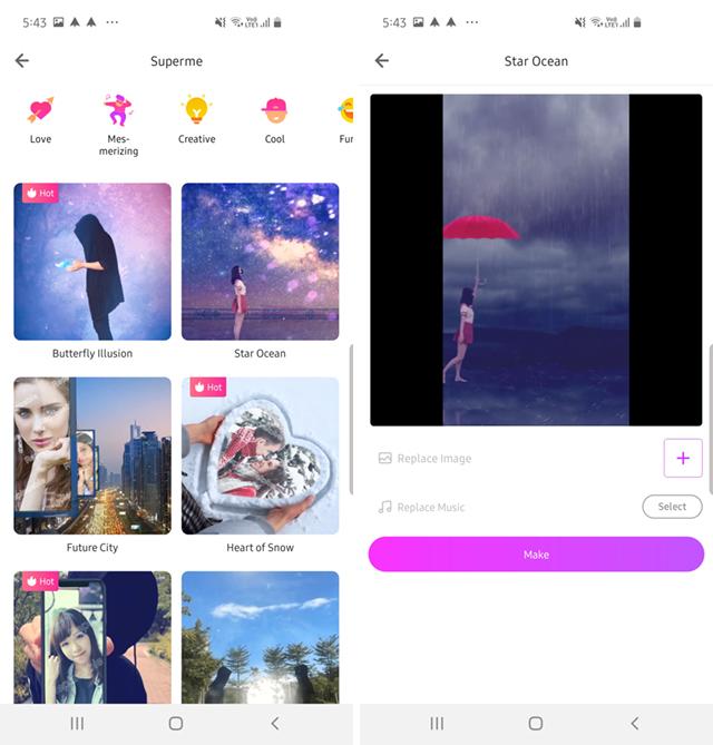 LIKE App: инструмент для редактирования видео со спецэффектами