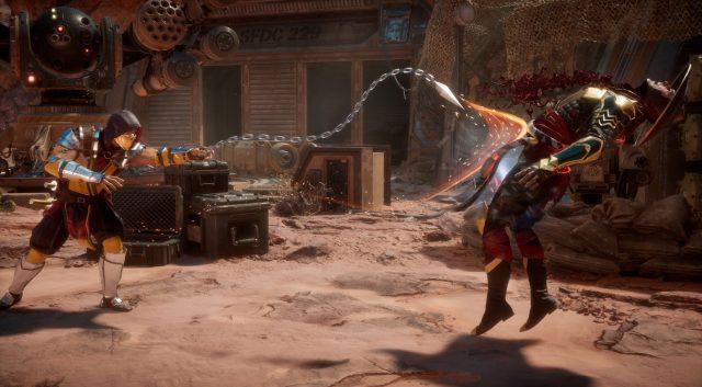 Mortal Kombat 11 пробивает себе дорогу в сердца, останавливается