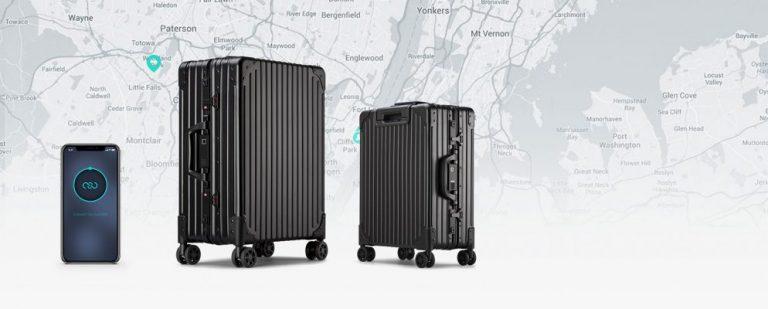 Умный багаж NOVI отслеживаемый, самовзвешенный и супер доступный