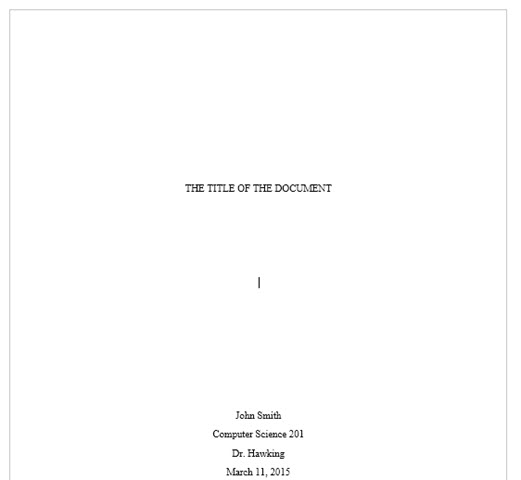 Как сделать привлекательную титульную страницу в Microsoft Word