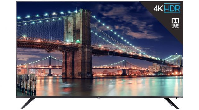 Сделки ET: сэкономьте 33 процента на 55-дюймовом TCL 55R617 4K Smart TV с Roku