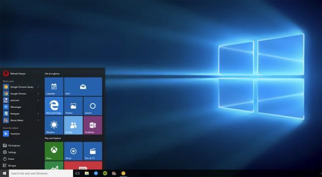 Windows 10 теперь требует минимум 32 ГБ дискового пространства