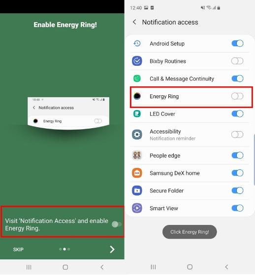 Как настроить дисплей Samsung Galaxy S10 с перфорацией