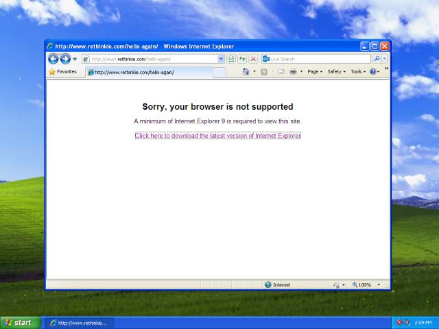Какой браузер наиболее безопасен в вашей старой системе Windows XP?
