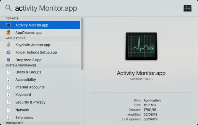 Что такое монитор активности? Эквивалент Mac из диспетчера задач