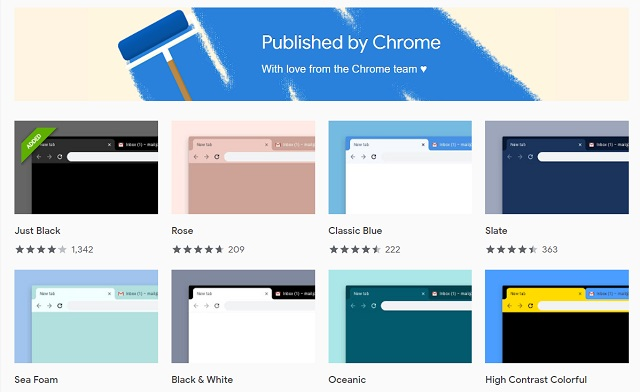 12 лучших тем Google Chrome, которые вы должны использовать в 2019 году