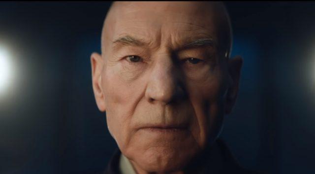 Первый трейлер прибывает для предстоящего Star Trek: Пикард на CBS