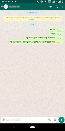 Как узнать, что кто-то заблокировал вас на WhatsApp (2019)