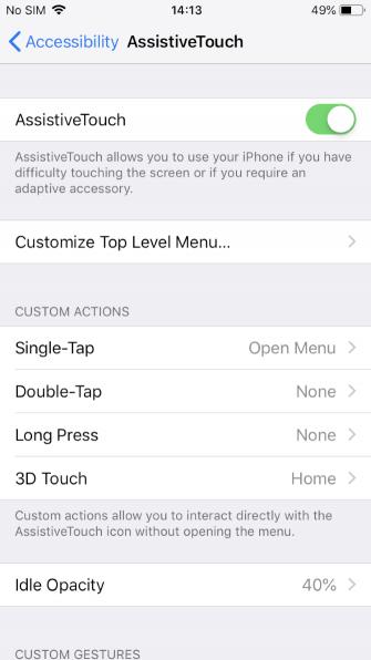 Как принудительно перейти в ландшафтный режим на iPhone