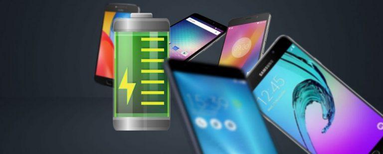 7 лучших телефонов для продления срока службы аккумулятора