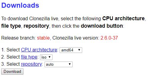 Как использовать Clonezilla для клонирования жесткого диска Windows