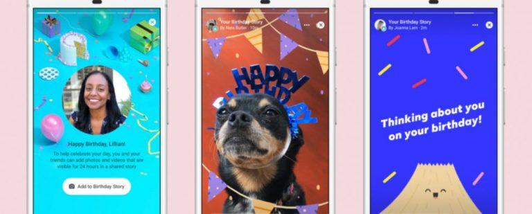 Facebook запускает новый способ поздравить с днем рождения
