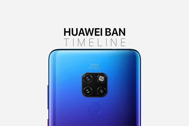 Huawei Ban: все, что случилось до сих пор