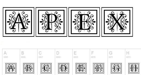 35 лучших бесплатных монограммных шрифтов для дизайнеров в 2019 году