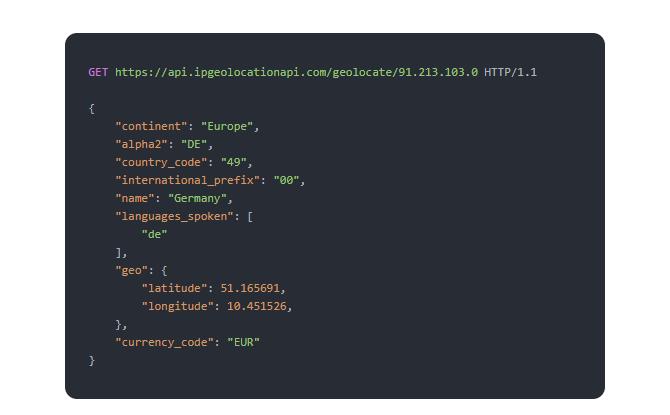 Бесплатный API геолокации IP является ценным инструментом для веб-мастеров