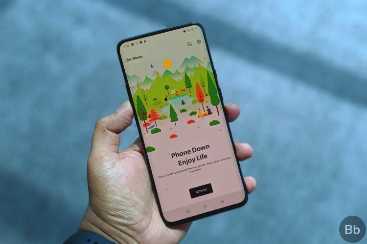OxygenOS получает режим дзен, чтобы помочь пользователям сосредоточиться; Обуздать зависимость от смартфона