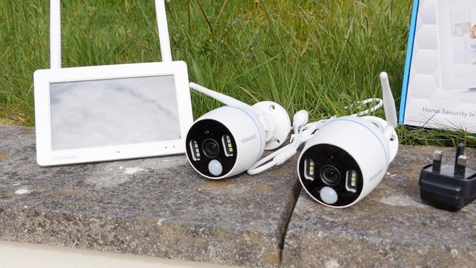 Обзор системы беспроводных прожекторов CCTV Yeskamo