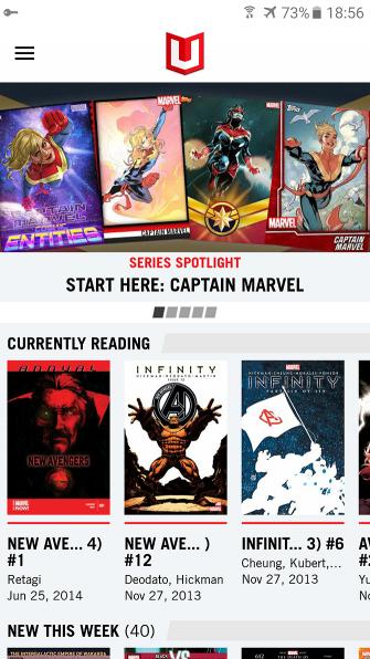 6 лучших читателей комиксов для Android