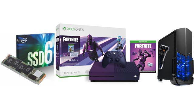 ET предложения: Intel 660p 1 ТБ SSD $ 99, Xbox One S 1 ТБ Fortnite LE 249 $, AMD Ryzen 5 Gaming Desktop $ 639
