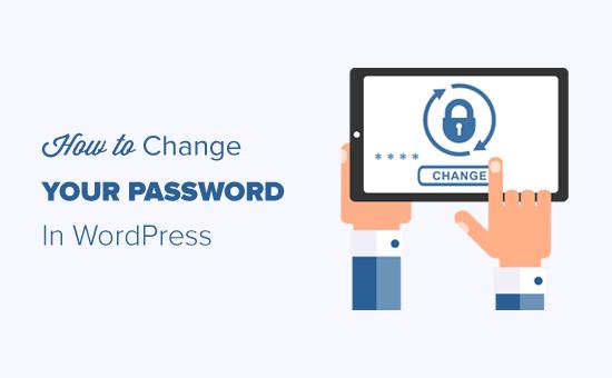 Как изменить свой пароль в WordPress (руководство для начинающих)