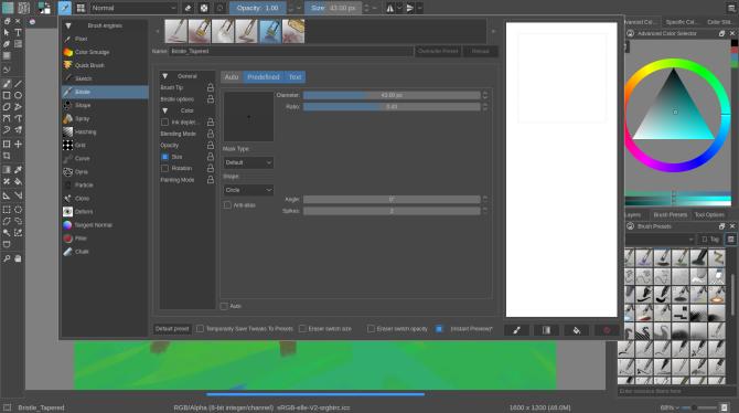 Krita — это бесплатная альтернатива GIMP, которую вы должны использовать