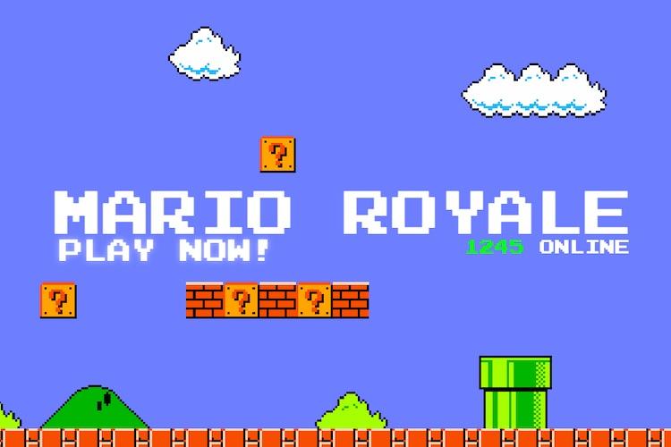 Супер Марио с Battle Royale — это весело!