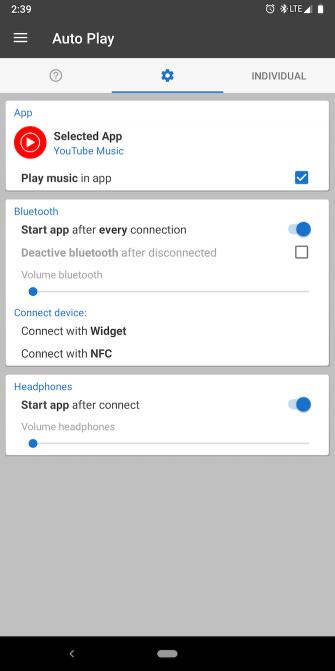 Как открыть приложения при подключении наушников на Android