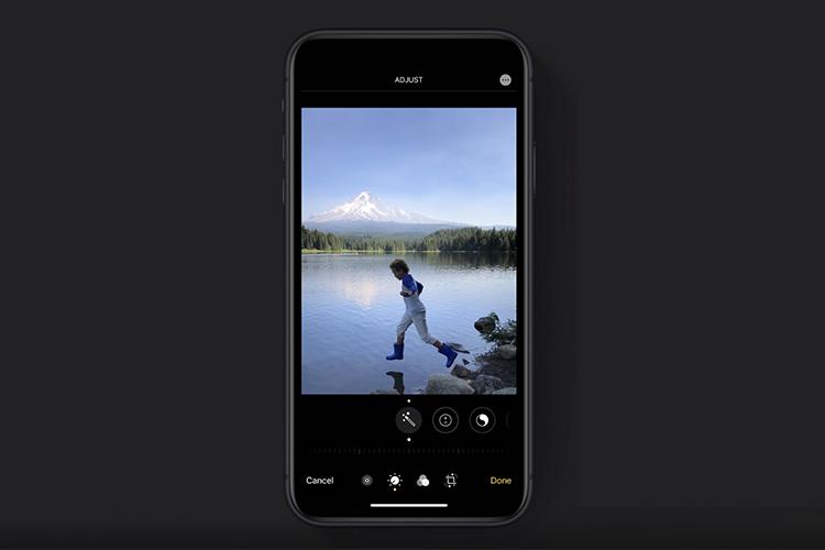 iOS 13 приносит гораздо более мощный встроенный редактор фотографий