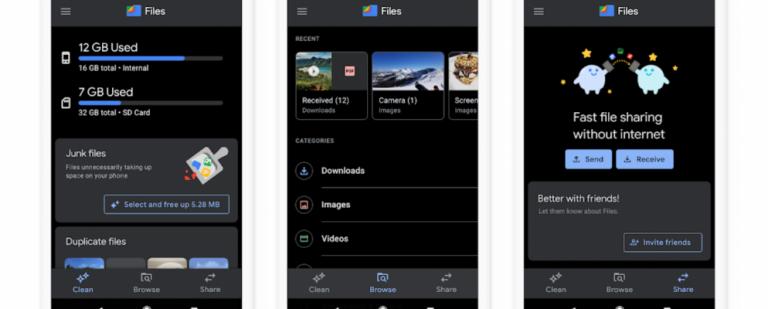 Google Files теперь помогает воспроизводить медиафайлы в автономном режиме