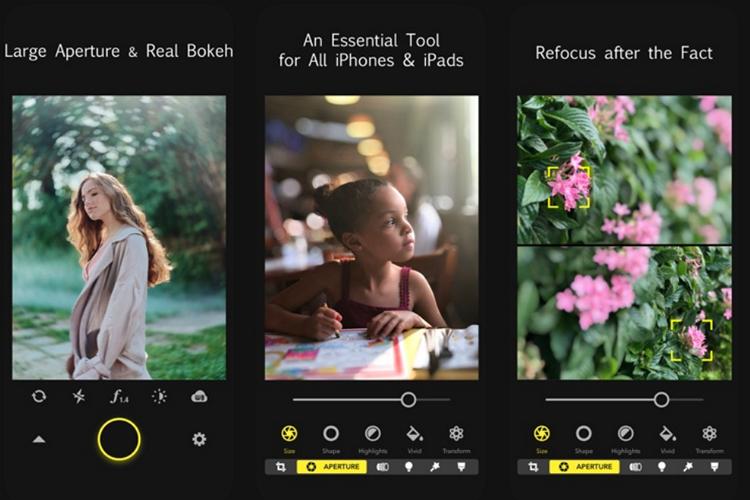 Focos — это приложение для камеры, позволяющее контролировать глубину резкости