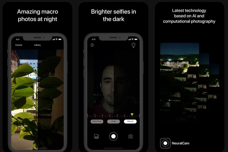 NeuralCam является эквивалентом ночного прицела ближайшего пикселя для iPhone