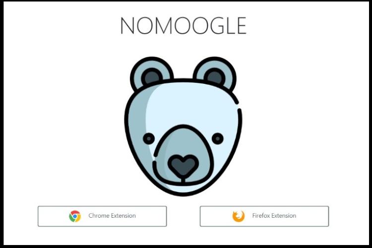 Расширение браузера NOMOOGLE поможет вам удалить Google